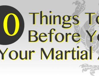 10 Things To Know Before You Start Your Martial Arts Classes