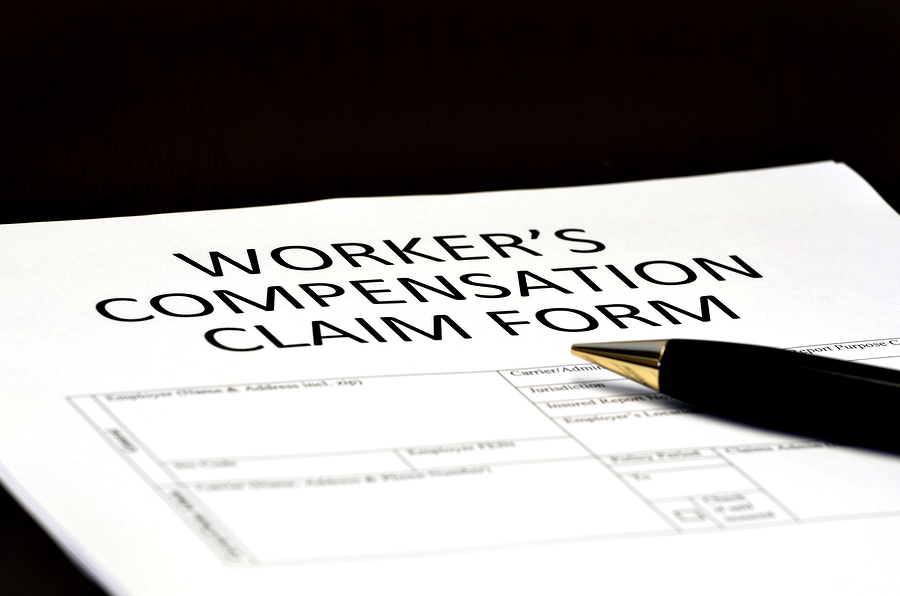 Worker's Compensation Claim form