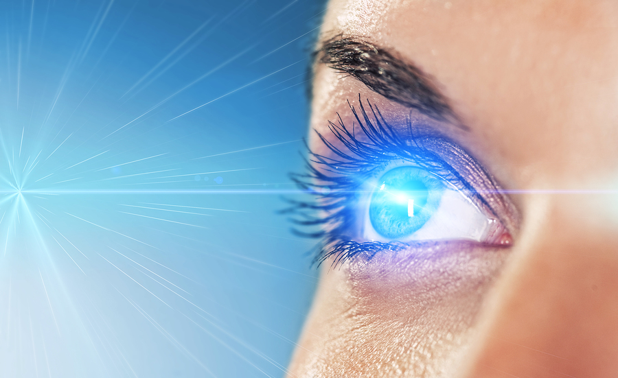 Laser treatment for eyes